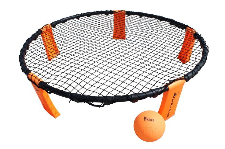 """""""Striker"""" - Volleyball Style, round-net game for backyard, beach play. 2-on-2 teams, fast-paced sport."""