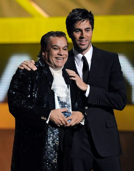 Iglesias and Juan Gabriel