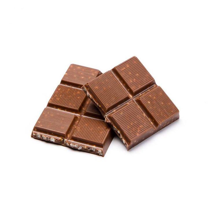 Petite barre de chocolat au lait et quinoa soufflé caramélisé de 35 g 3.99 $