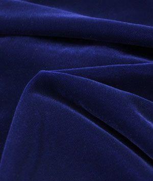 Shop  Fairvel Royal Ink Blue Micro Velvet Fabric at onlinefabricstore.net for $22.05/ Yard. Best Price & Service.