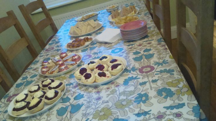 Scones and other yummy treats