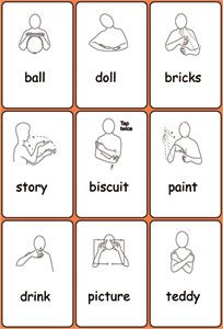 Website to show school to buy makaton and visuals for language