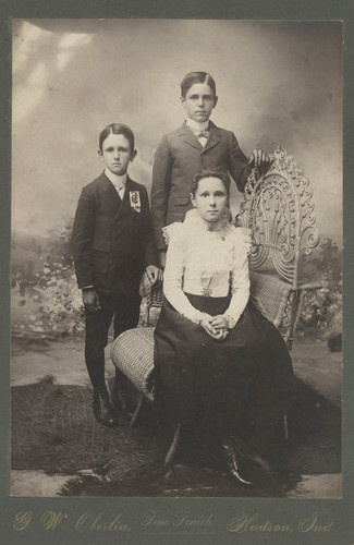 Marvelous Cabinet Photo US President McKinley Mourning