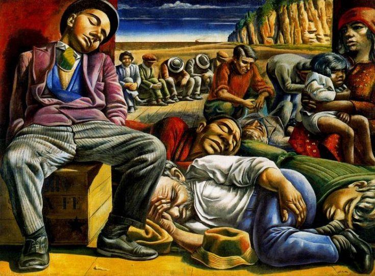 Antonio Berni, Desocupados. 1934