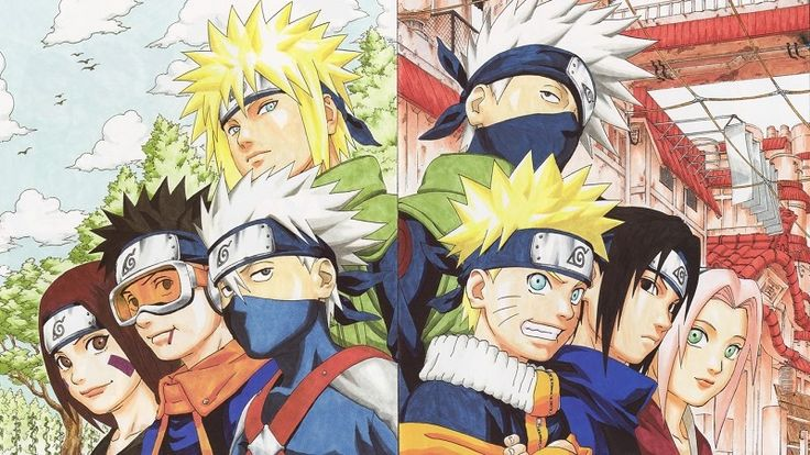 Team Minato/Team Kakashi - Naruto