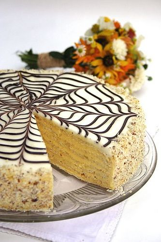 Esterházy torte is a Hungarian and Austrian cake named after Paul III Anton, Prince Esterházy, a wealthy prince and diplomat of the Austro-Hungarian Empire. It has become one of the most famous cakes in Europe.  It was invented in the 19th century in honor of Prince Esterházy.  Esterházy torte consists of buttercream sandwiched between four to five layers of almond meringue. There are, however, many different recipe variations.