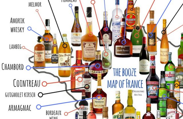 France is well known for its food - but did you realize just how many alcoholic drinks come from this country? This will make you want to have an early apéro.