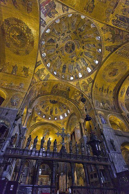 St. Mark's basilica, in Venice, Italy