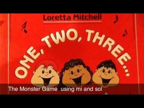 The Monster Singing Game – just a little more