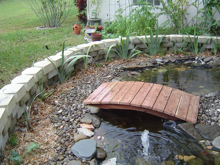 Small bridges for gardens your wonderful bridge i wanted for Pond fish wanted