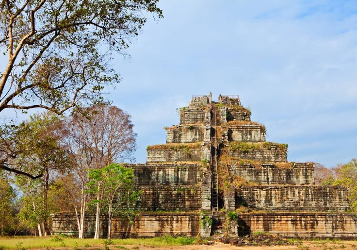 Koh Ker, au Cambodge