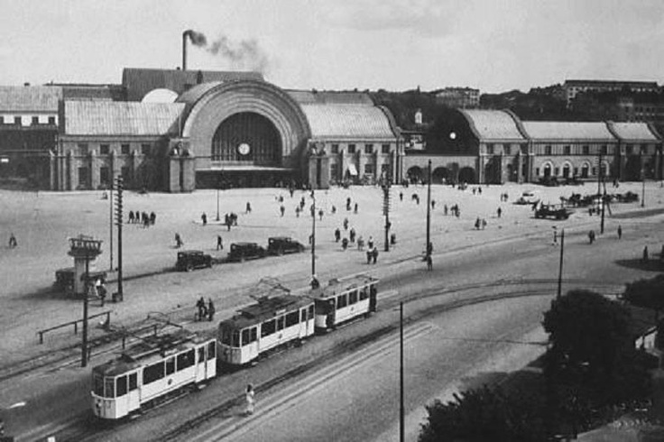 Viipuri Station, Finland, 1920