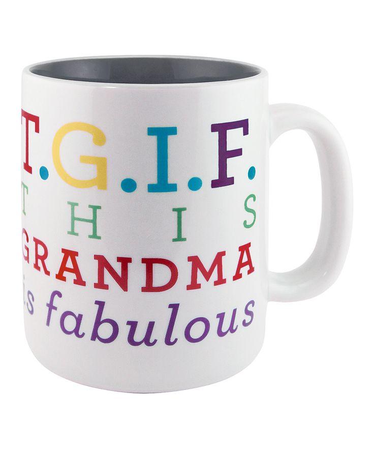 'This Grandma is Fabulous' Sunnyside Up Mug | zulily
