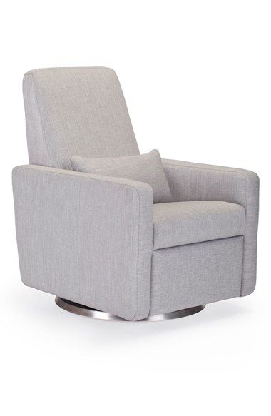 Infant Monte Design u0027Granou0027 Glider Recliner with Swivel Base - Grey  sc 1 st  Pinterest : infant recliners - islam-shia.org