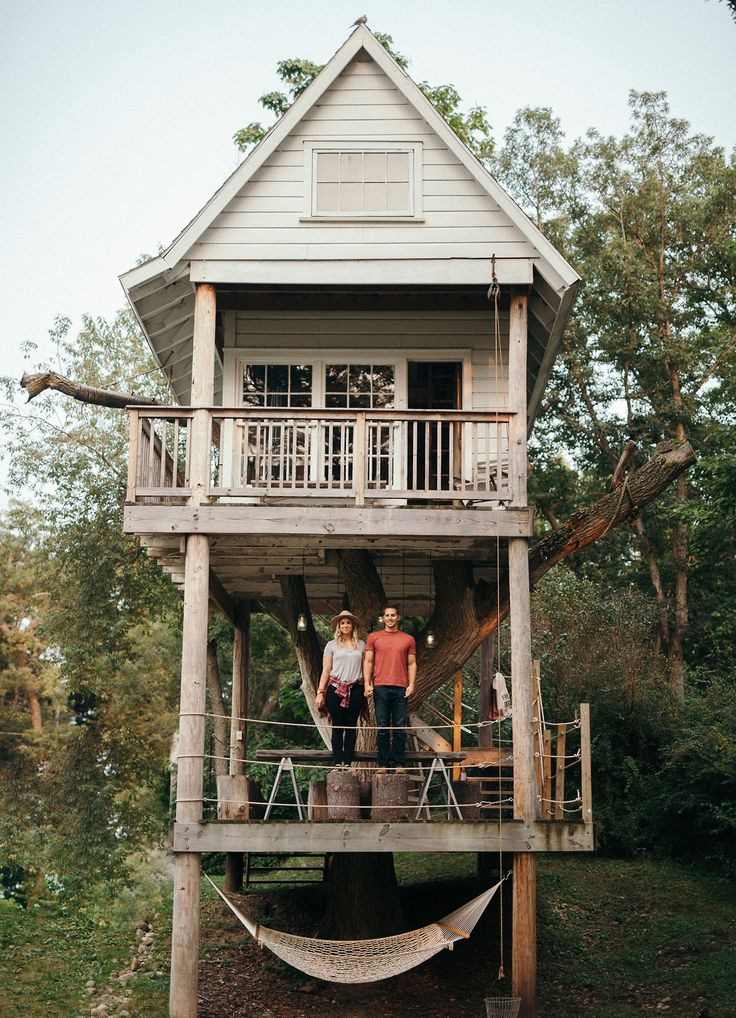 From treehouses in the ancient Costa Rican rainforests to treetop getaways surrounded by South African wildlife, we're taking the climb up to 28 of the world's most amazing treehouses.   Photo: Cassie Rosch