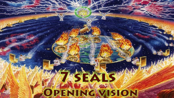 Revelation 4 & 5 - God's Throne in Heaven - Lamb Worthy to open 7 Seals