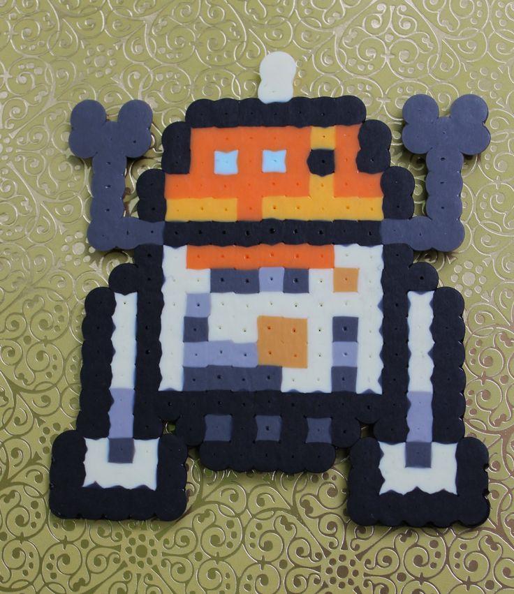 perler bead Chopper from Star Wars Rebels