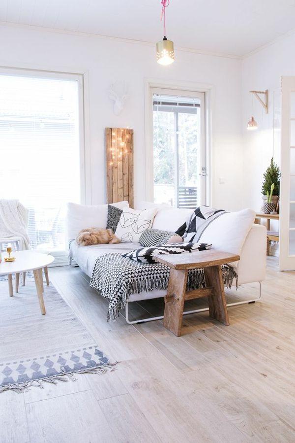 Die 25 besten ideen zu wohnzimmer bodenbelag auf pinterest holzfu b denfarben bodenfarben - Skandinavisch einrichten wohnzimmer ...