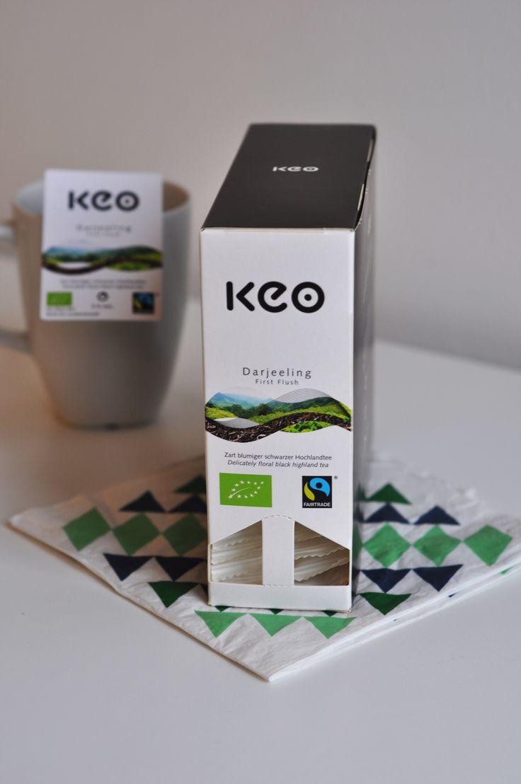 Fairtrade und Bio ist dieser Darjeeling Tee. So kann man sein Tässchen Tee auch mit gutem Gewissen genießen ...