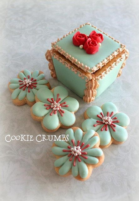 Decorative Cookie Inspiration ~ From Cookie Crumbs