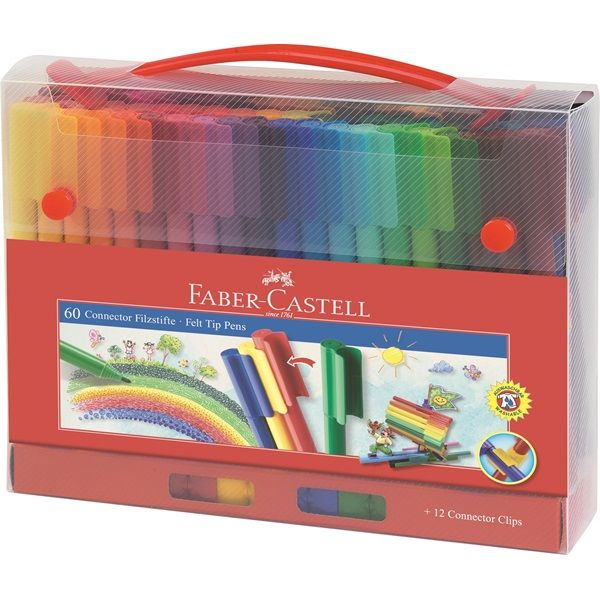 Faber-Castell 60 Connector Pens, DeSerres, $19.99.