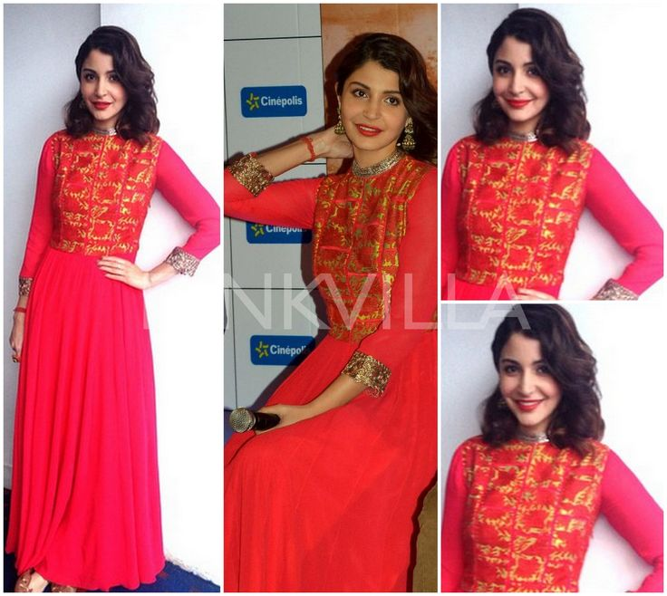 Yay or Nay : Anushka Sharma in Manish Malhotra