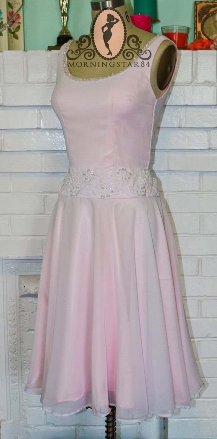 Baby's Dirty Dancing Dress Light Pink by MorningstarPinup on Etsy