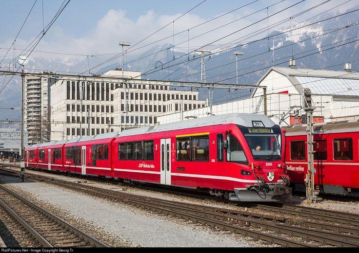 Photo 3101 RhB Rhätische Bahn ABe 4/16