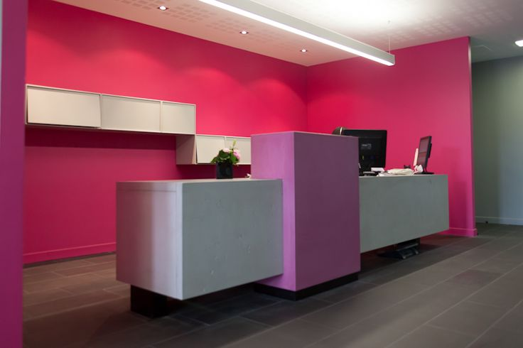 Banque d accueil beton strego 2 by lcda accueil pinterest work desk we and the o 39 jays - Beton lcda ...