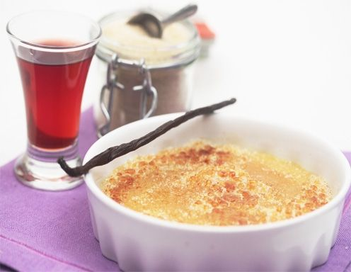 Crème brûlée mit Glühwein - Rezept - ichkoche.at