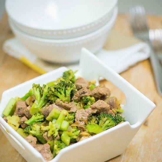 Easy and fun take on Beef + Broccoli