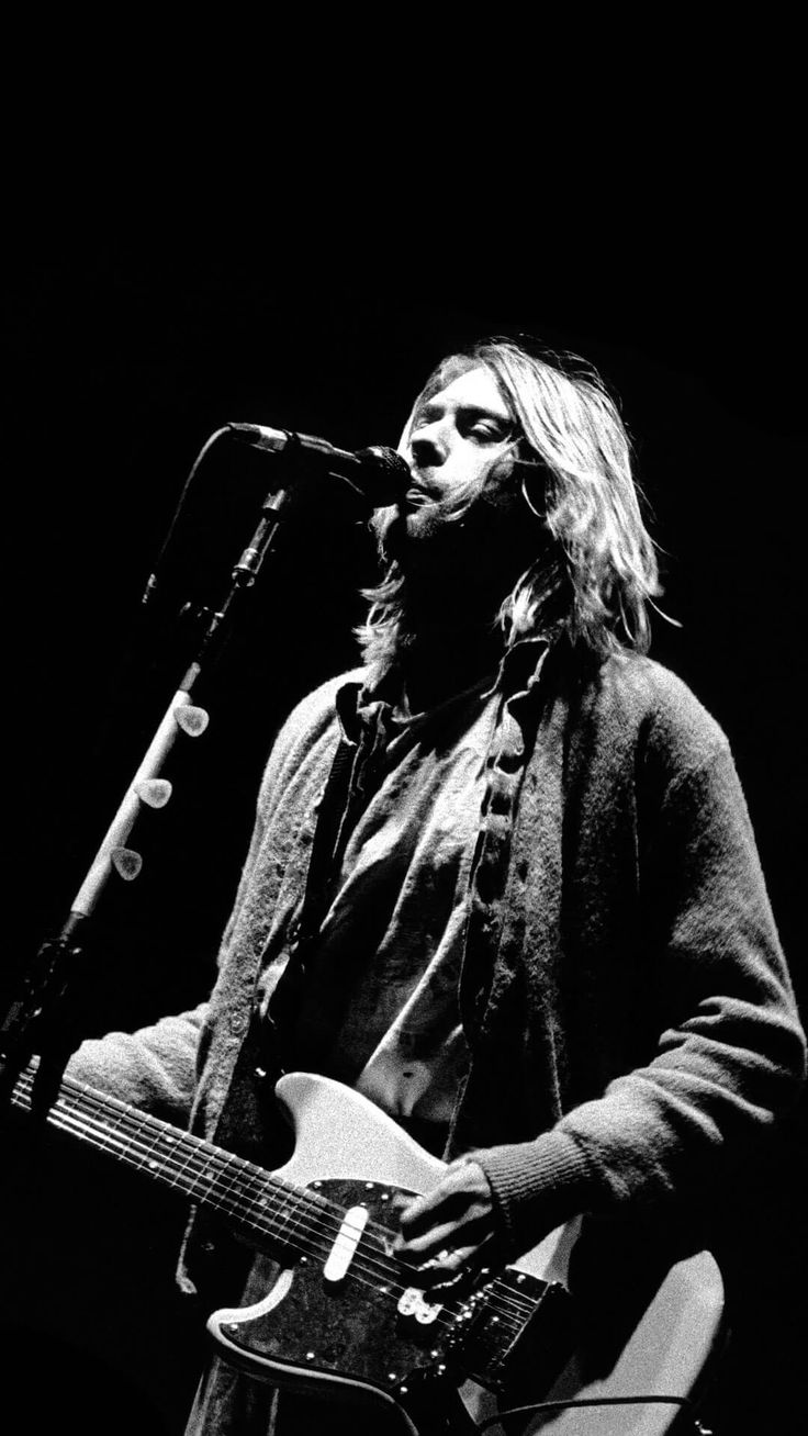Nirvana iphone wallpaper tumblr - Kurt Cobain Iphone 6 Plus Wallpaper Hd