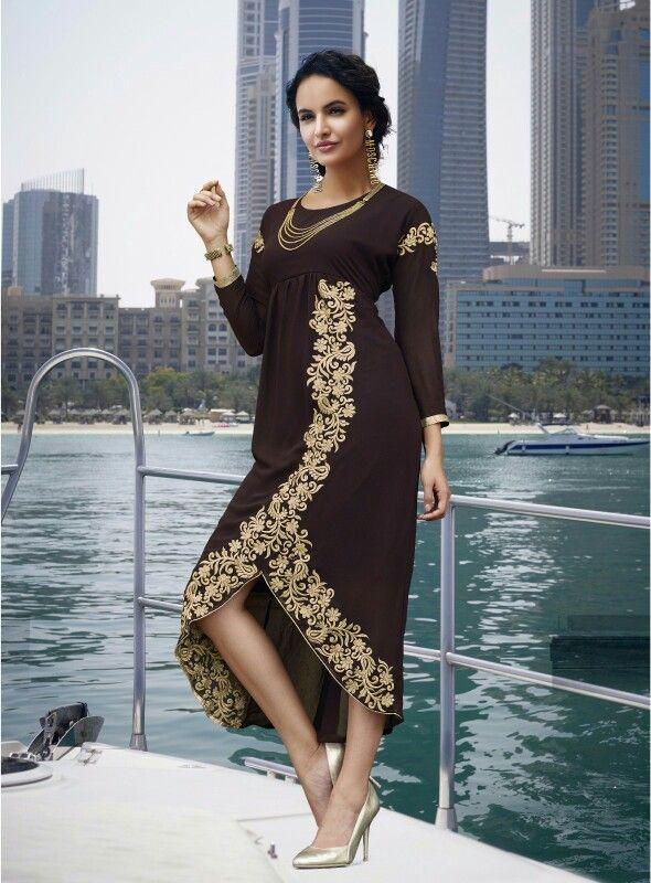 Elegant designer kurti Ping : 9892844667