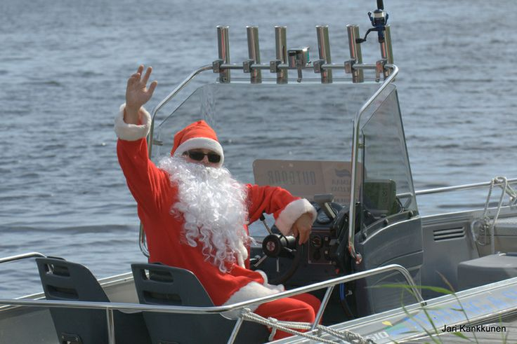 Santa Claus on Saimaa Ringed Seal safari