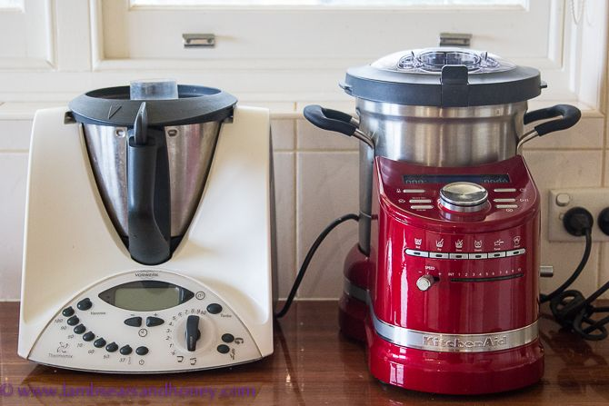 kitchenaid cook processor vs the thermomix review by lambs 39 ears honey house in the. Black Bedroom Furniture Sets. Home Design Ideas
