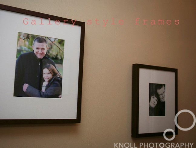 top five tips for displaying photos - the gallery style frame