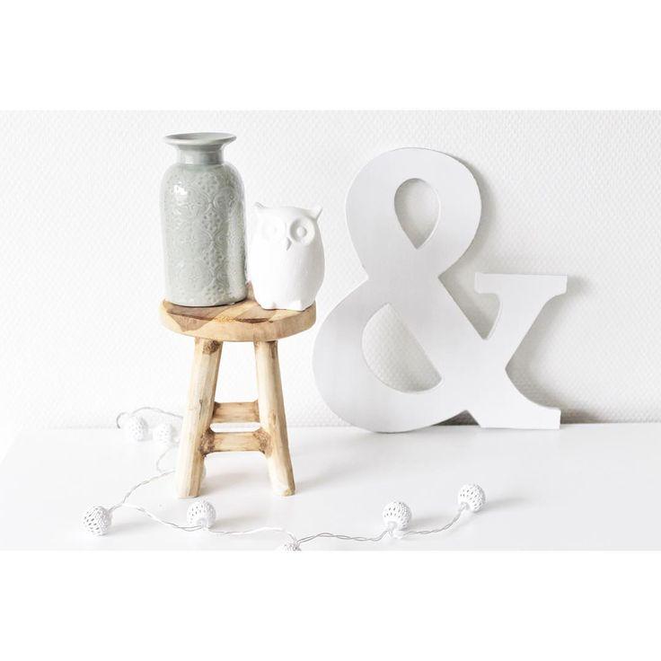 #kwantuminhuis Decoratieletter AND > https://www.kwantum.nl/wonen/woondecoratie/overige-decoratie/letter-and-wit-0795000 @lifeofnienke