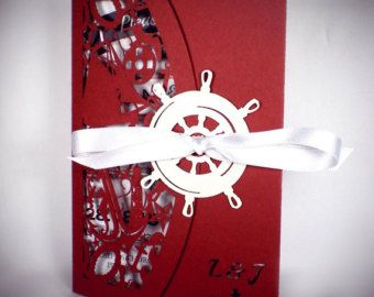 Stationery Samples: Vintage Roses Laser Cut di TheCrossEyedFox