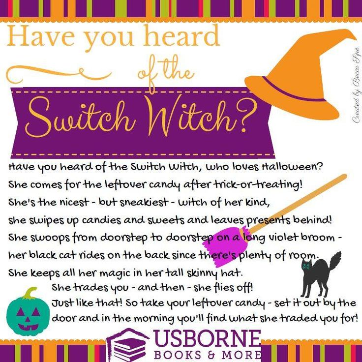 Switch Witch Halloween