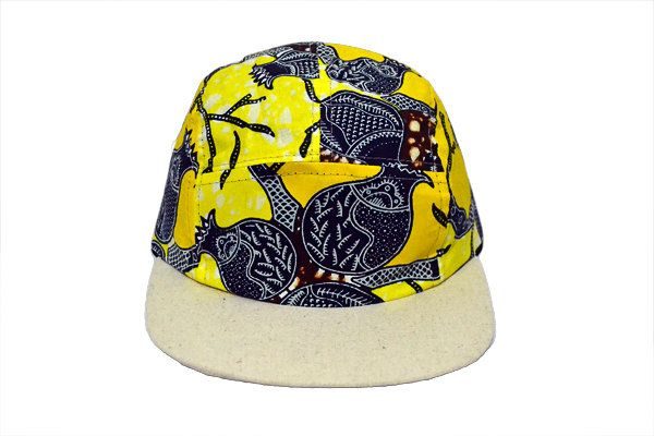 FITRI 5 PANEL CAP by Griot Space for sale on http://hellopretty.co.za