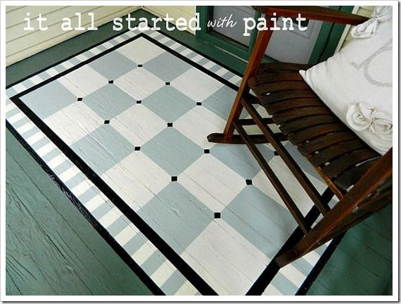 Painted Porch