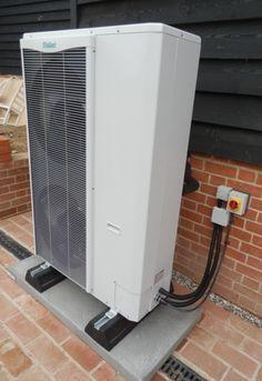 Air Source Heat Pump Installed