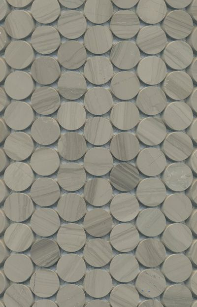Academy Tiles - Stone Mosaic - Stone Penny Rounds - 75464