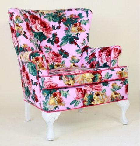 Chintz Armchair| Floral Chair