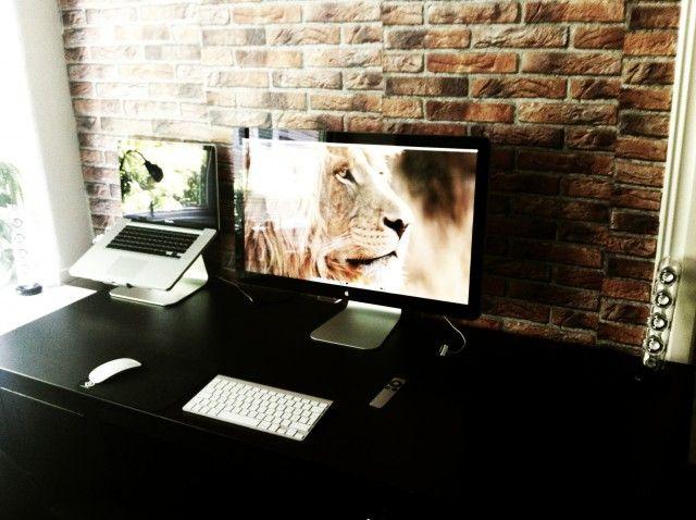 Apple LED Cinema Display · Office SetupOffice WorkspaceHome ...