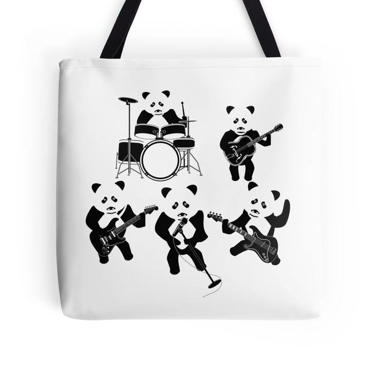 Panda Rock Panda by piedaydesigns