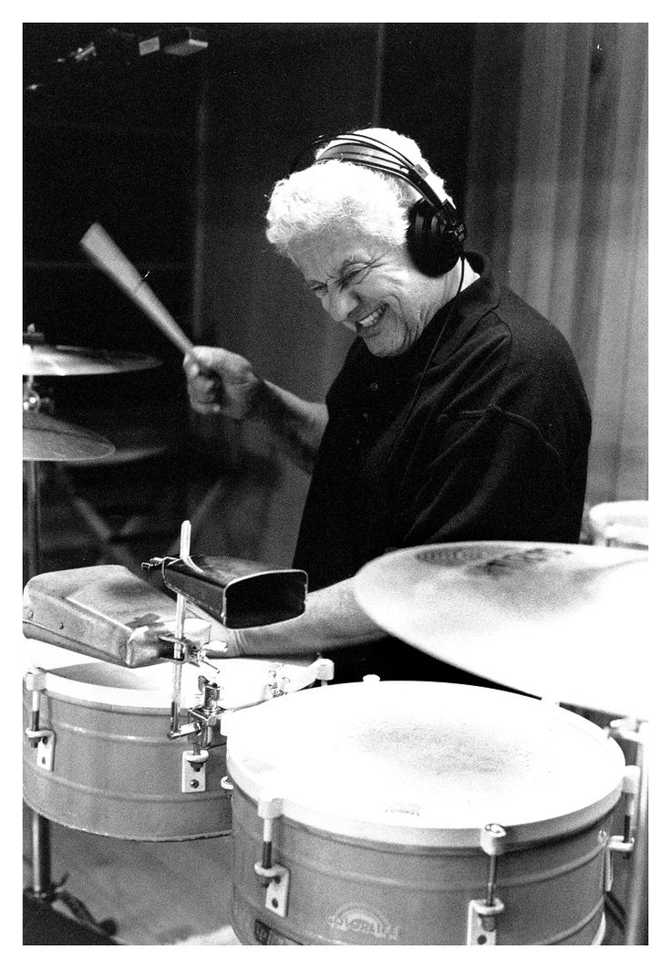 Tito Puente king of the timbales.
