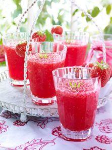 Besonders fruchtig: Erdbeer-Cocktail