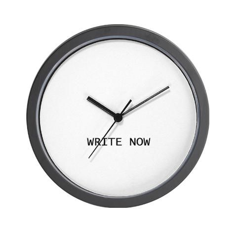 The time is write #writerhumor