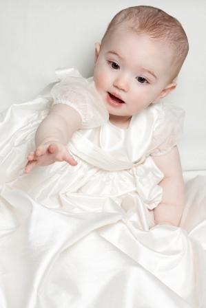 Poppy Christening gown